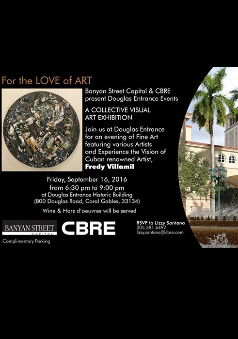 For the Love of  Art Gallery Night 2016